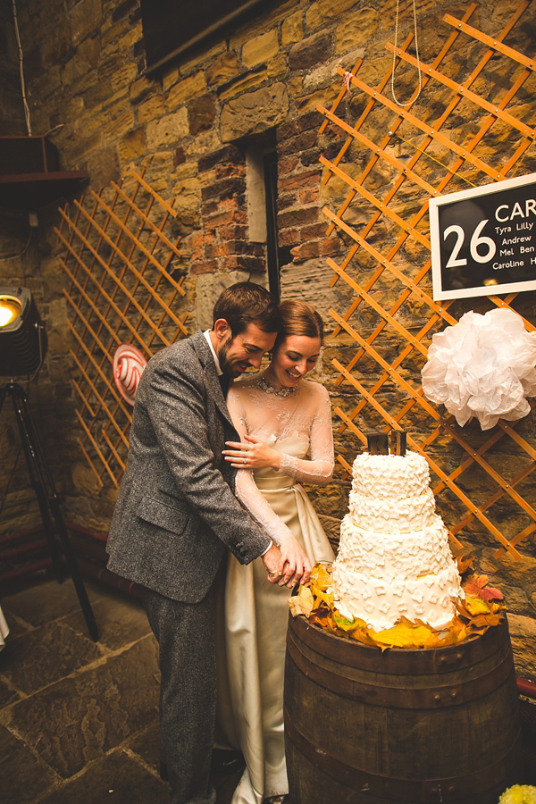 A Wonderful 1950s and '60s Inspired Mustard Yellow Autumn Wedding (Weddings )