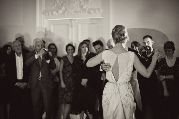 Jenny Packham's Esme for a Charming and Elegant Country House Winter Wedding (Weddings )
