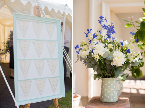 Shades Of Duck Egg Blue For A Vintage Tea Party Inspired