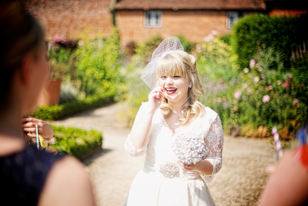 English Country Garden Charm ~ A Walled Garden, Tea Party Wedding (Weddings )