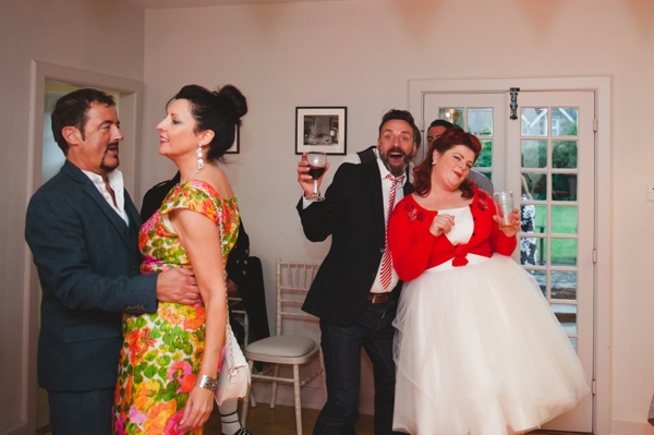 Colourful quirky 1950s retro wedding-75