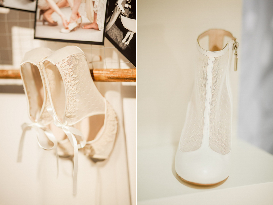 Harriet Wilde wedding shoes at The White Gallery, London, April 2014