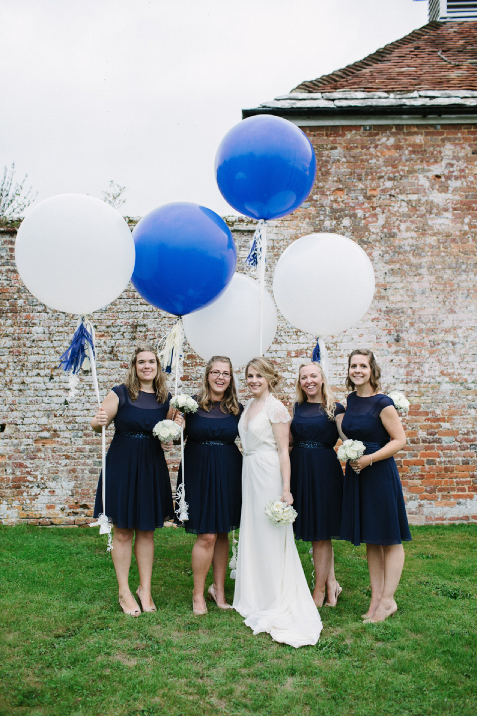 Aspen by Jenny Packham for a Navy Blue, Nautical Inspired Wedding (Weddings )