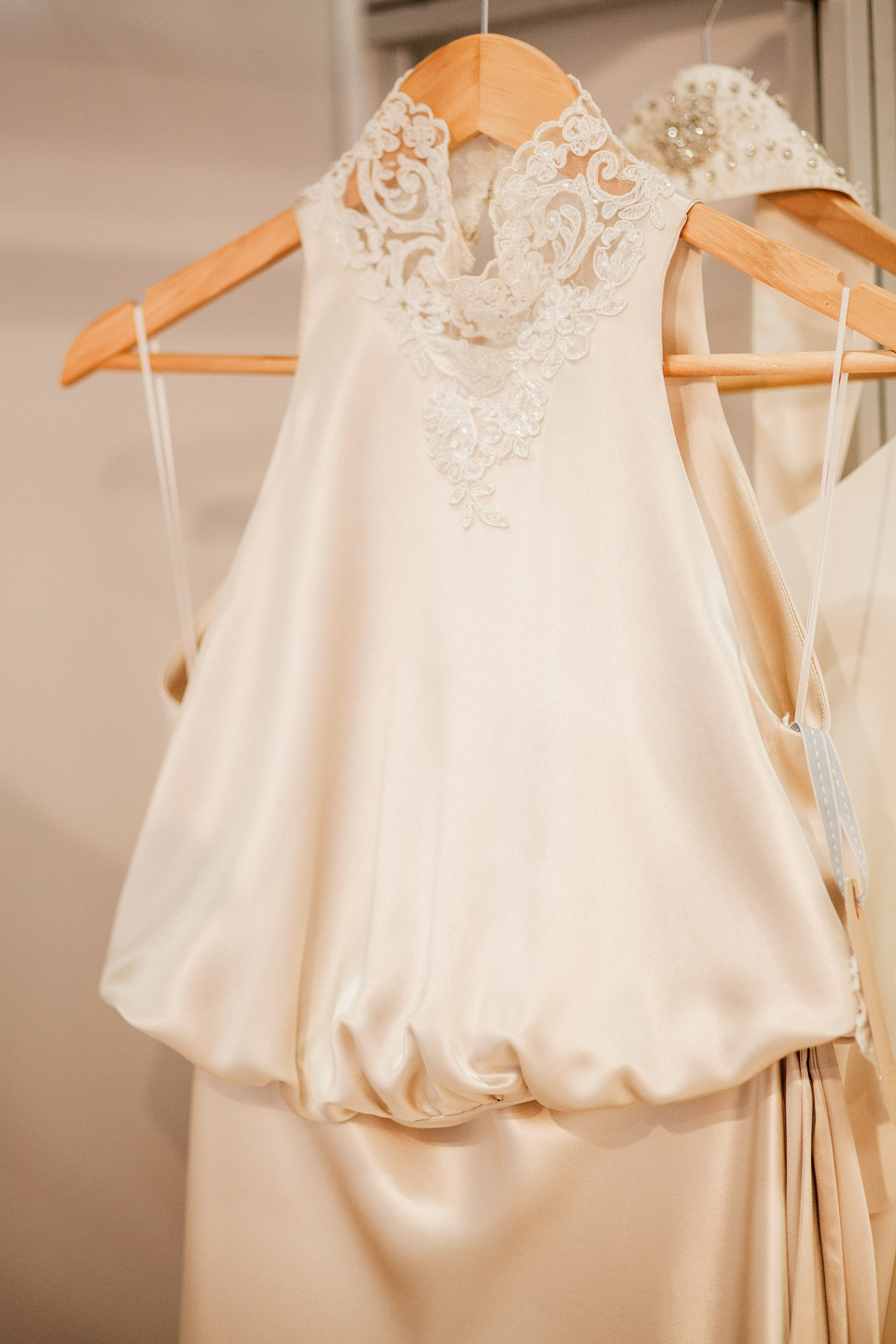 Emma Tindley wedding dresses at The White Gallery, London, April 2014