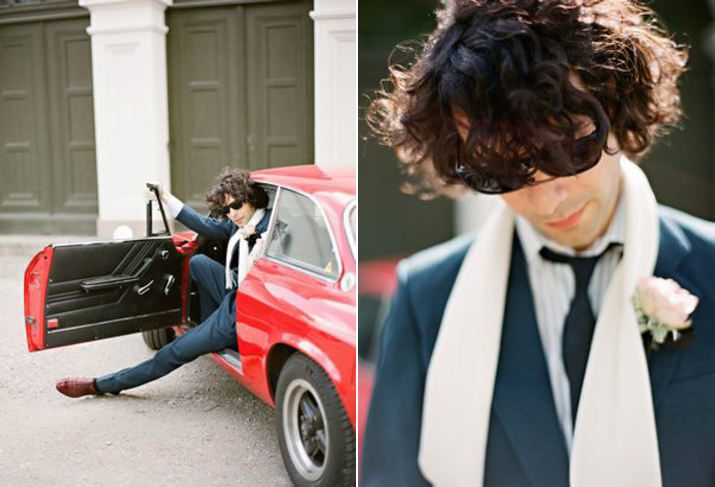 A 60s Chic Rock n' Roll Bride On Her Jetset Honeymoon (Get Inspired Styled Shoots )