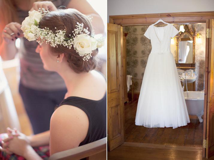 1950s inspired elegance for a whimsical scottish lochside for Eva my lady wedding dress