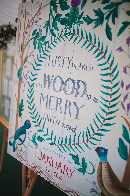 Ronald Joyce & Pretty Illustrations For An Elegant 40s and 50's Vintage Winter Wedding (Weddings )