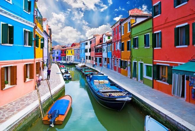 Бурано — островной квартал Венеции