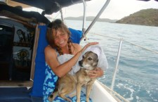 Sailing Pet - Drying Off