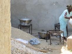 Cooking in Haiti