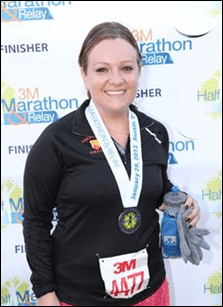 3M Half Marathon Finish Photo