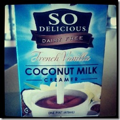 Coconut Milk Creamer