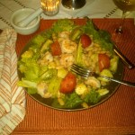 Friday Night Shrimp Salad