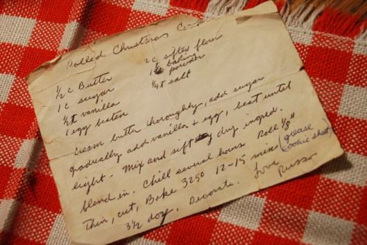 The original sugar cookie recipe.