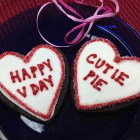 Valentine's Day cookies from Tribeca Treats
