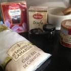 French salt, Spanish saffron and truffles.