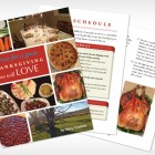 Thanksgiving recipes and process in an e-book format, beautifully designed to give you a magnificent feast.