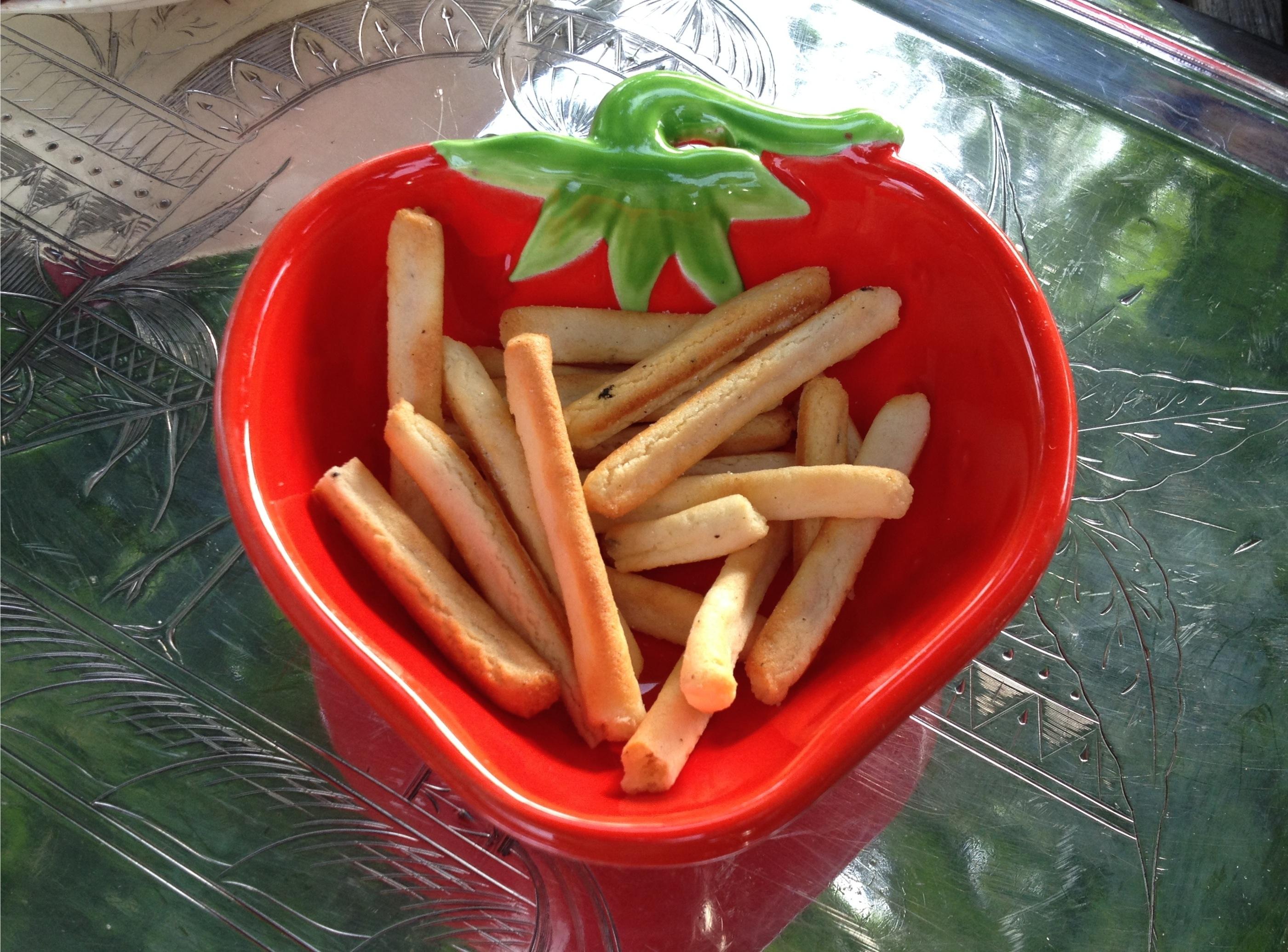 Jaxns twice baked potato stix.