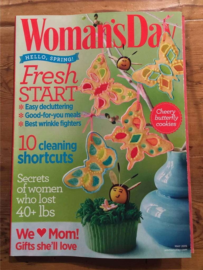 Women's Day magazine - Mother's Day cover.