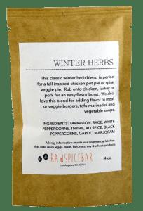 RawSpiceBar Winter Herb Blend.