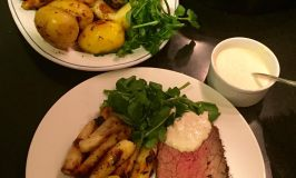 RawSpiceBar Winter Herbs on a Beef Rump Roast with Potatoes & Parsnips