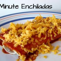 3-Minute Enchiladas
