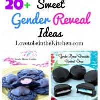 20+ Sweet Gender Reveal Ideas