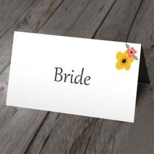 jolie wedding place card