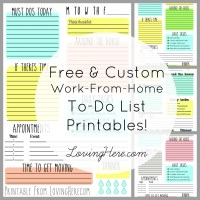 To-Do or Not To-Do: Free Printables for You!