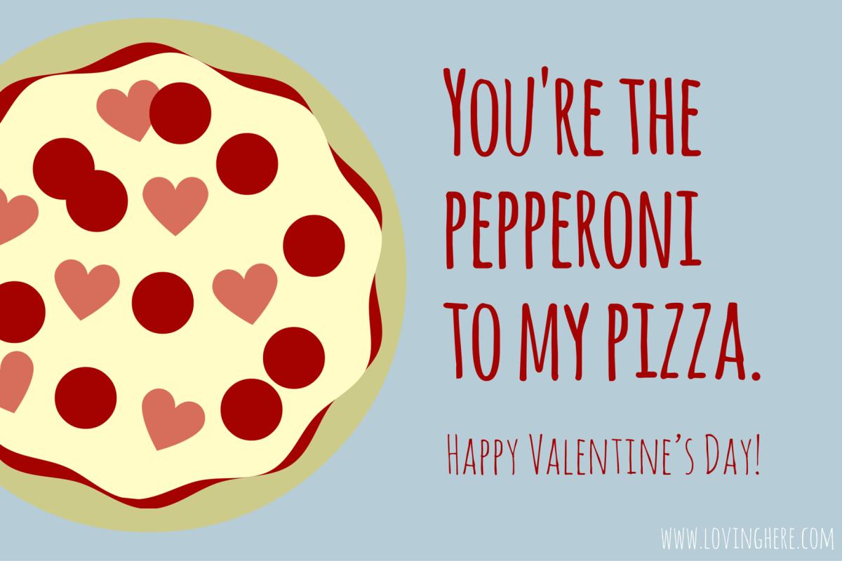Sweet Treats! Free Foodie Valentine Printable Cards