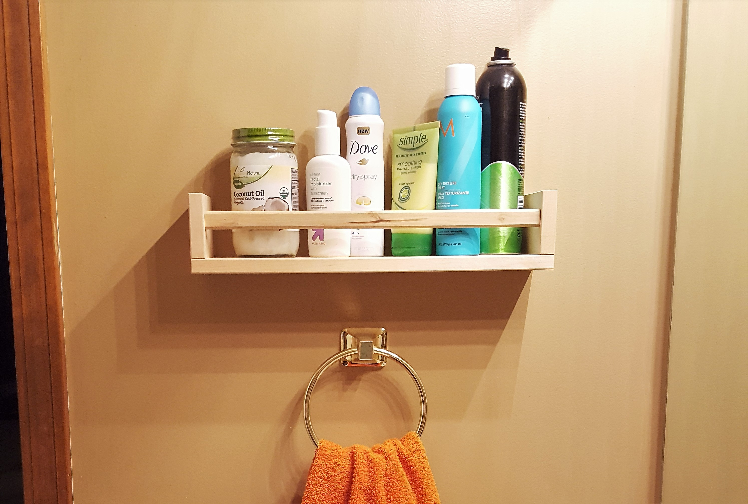 Fullsize Of Bathroom Shelf Rack