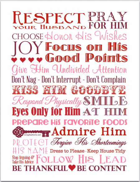 25 Ways to Communicate Respect | free printable Subway Art from http://lovinglifeathome.com