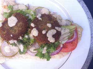 Falafels with Tahini Sauce