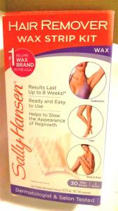 Product Review: Sally Hansen Hair Remover Wax Strip Kit