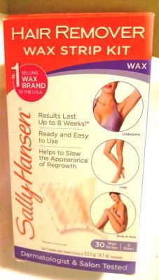 Salley Hansen Wax Strips