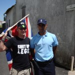 "I found a friendly Gendarmes who didn't want to shoot me! ""Allez Les Bleus!"""