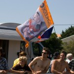 Flags became an integral part of our Tour