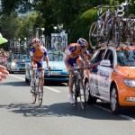 Rabobank riders' victims of the crash take the easy route home