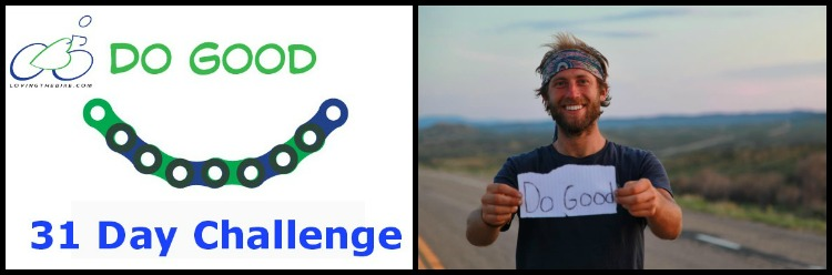 Do Good Challenge Loving the Bike