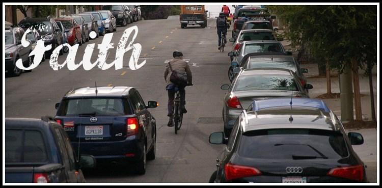 Faith on and off the bike