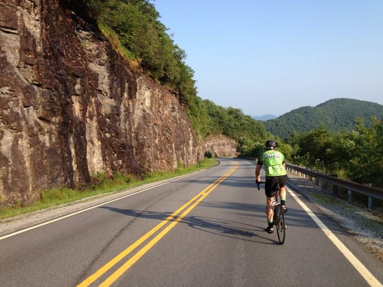 Climbing Hills on a bike