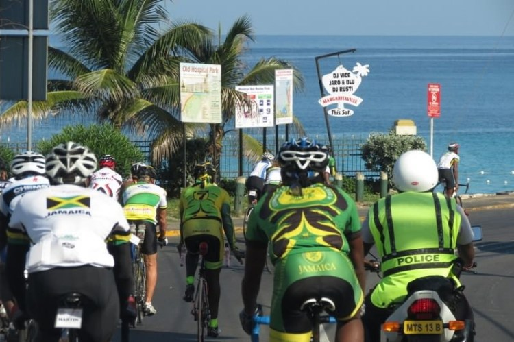 Cycling Across Jamaica
