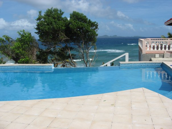 Pool view from Petite Anse
