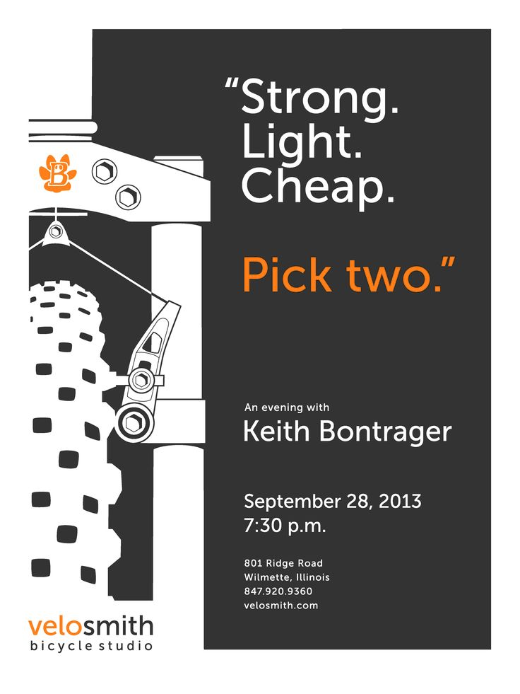 An Evening with Keith Bontrager