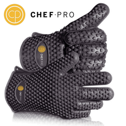 Chef-Pro Silicone Gloves for no carb foods