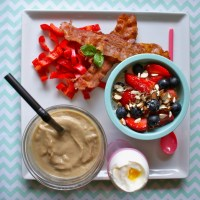 LCHF brunch - Breakfast for Champions! :)