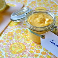 Low carb lemon curd