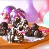 5 x LCHF julekonfekt med hjemmelavet marcipan.. :)