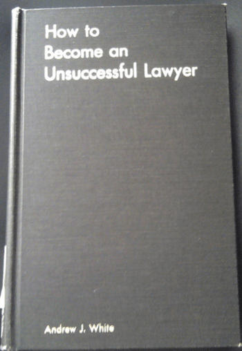 Unsuccessful lawyer