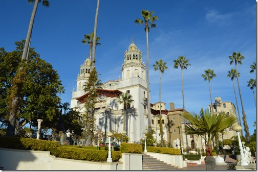 Hearst Castle front